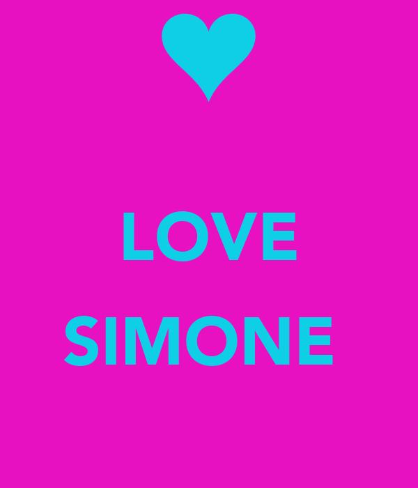 LOVE  SIMONE