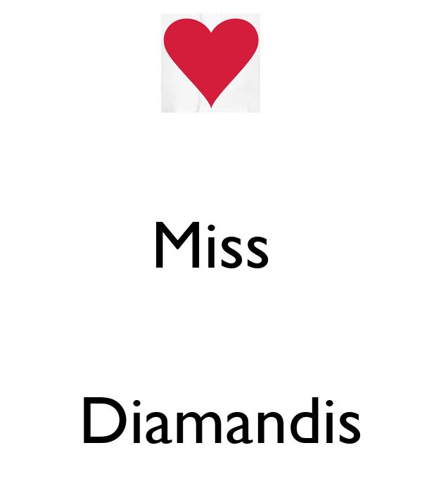 Miss    Diamandis