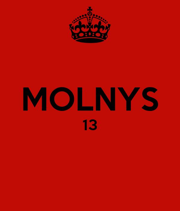 MOLNYS 13