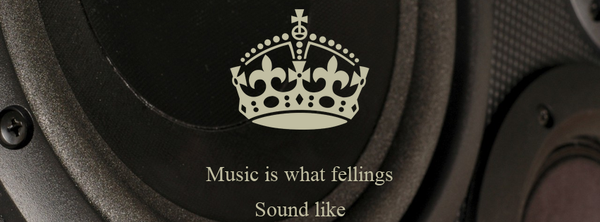Music is what fellings Sound like