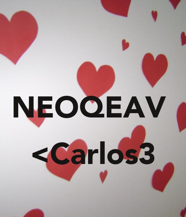 NEOQEAV   <Carlos3