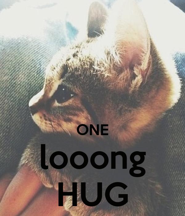 ONE looong HUG