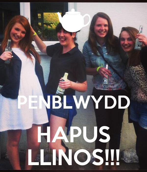 PENBLWYDD HAPUS LLINOS!!!