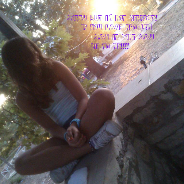 SORRY ...BUT I'M NOT PERFECT!
