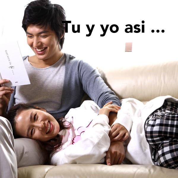 Tu Y Yo Asi ... No Se Piensalo. Poster