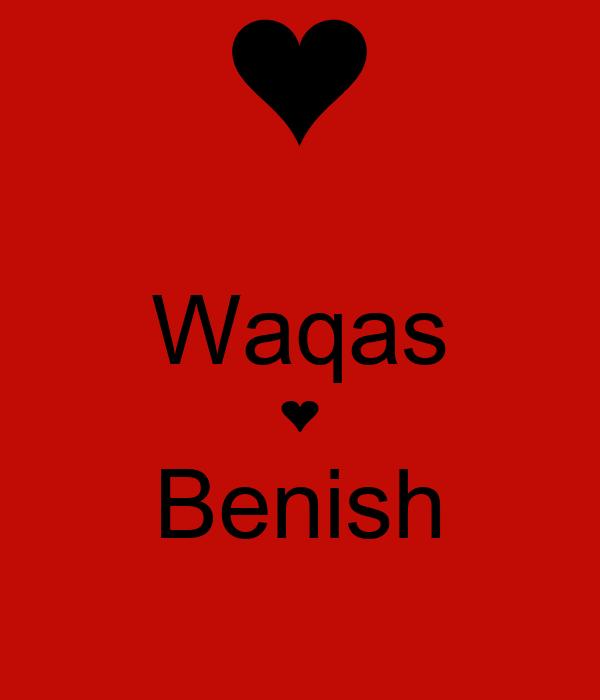 Waqas ❤ Benish