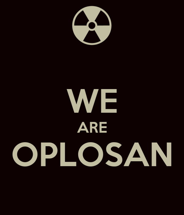 WE ARE OPLOSAN