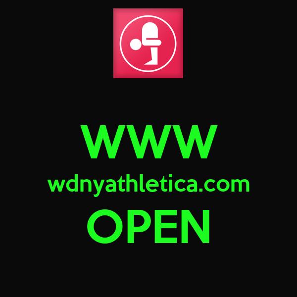 WWW wdnyathletica.com OPEN