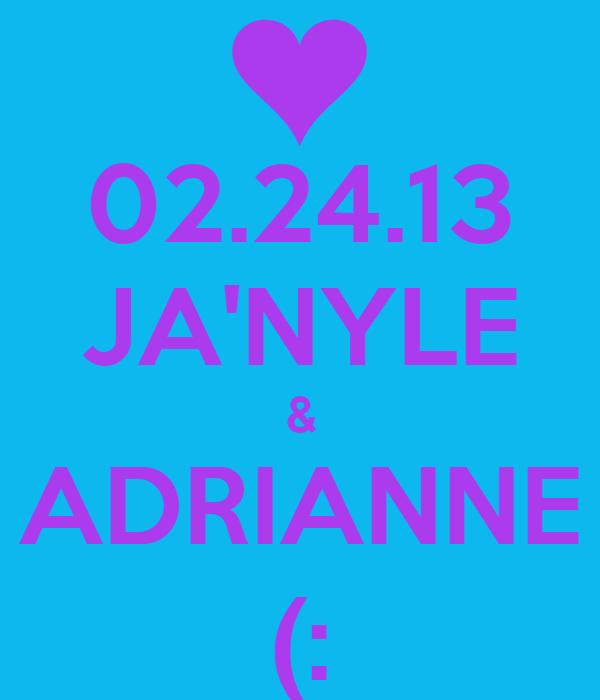 02.24.13 JA'NYLE & ADRIANNE (: