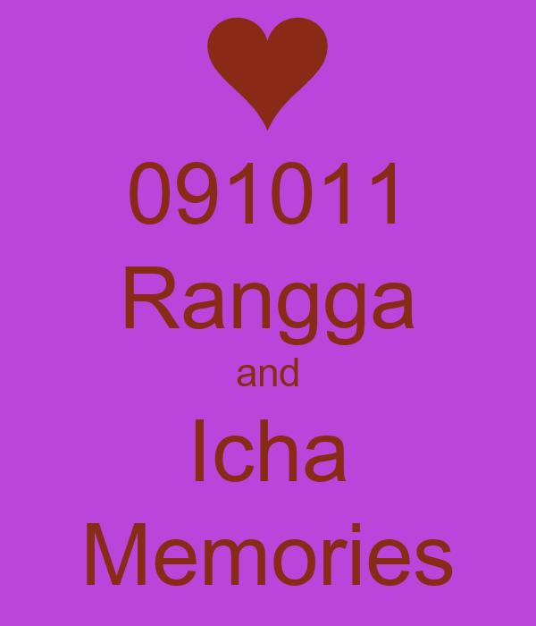 091011 Rangga and Icha Memories