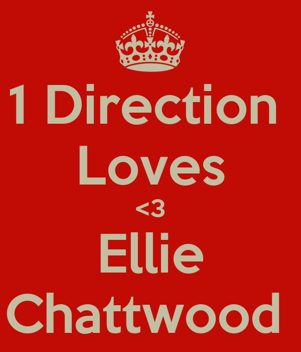 1 Direction  Loves <3 Ellie Chattwood