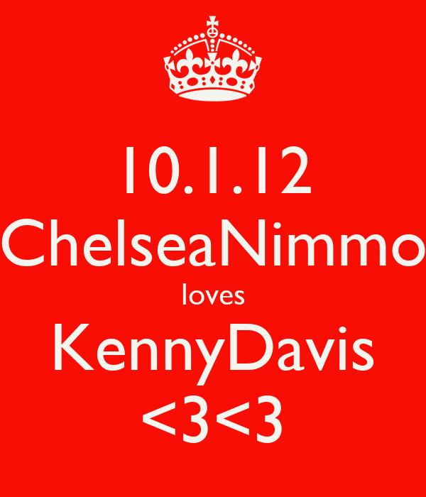 10.1.12 ChelseaNimmo loves KennyDavis <3<3