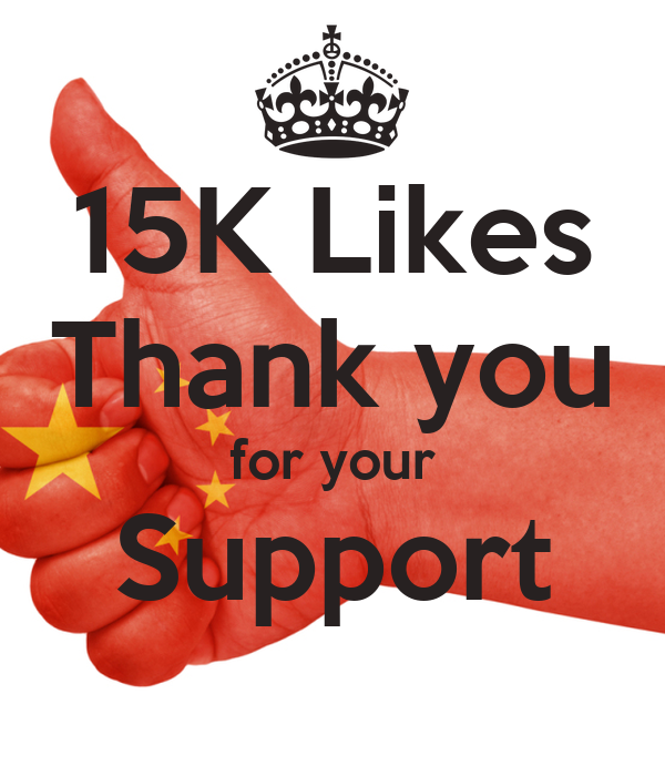 15K Likes Thank you for your Support