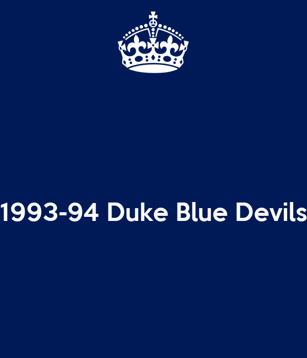 1993-94 Duke Blue Devils
