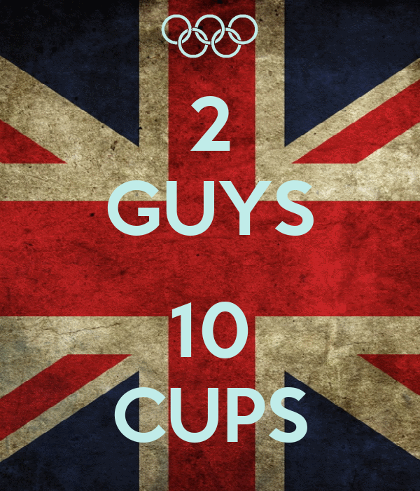 2 GUYS  10 CUPS