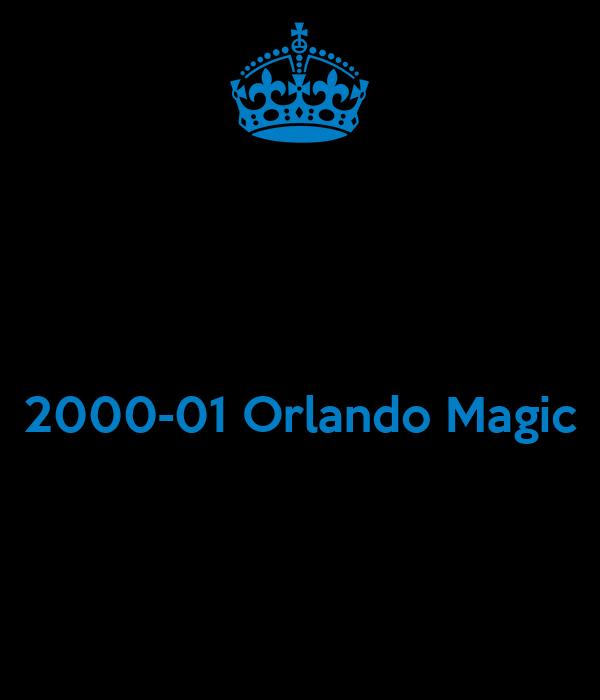 2000-01 Orlando Magic