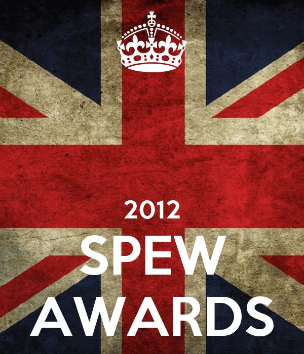 2012 SPEW AWARDS
