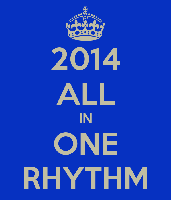 2014 ALL IN ONE RHYTHM