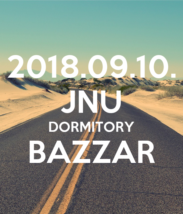 2018.09.10. JNU DORMITORY BAZZAR