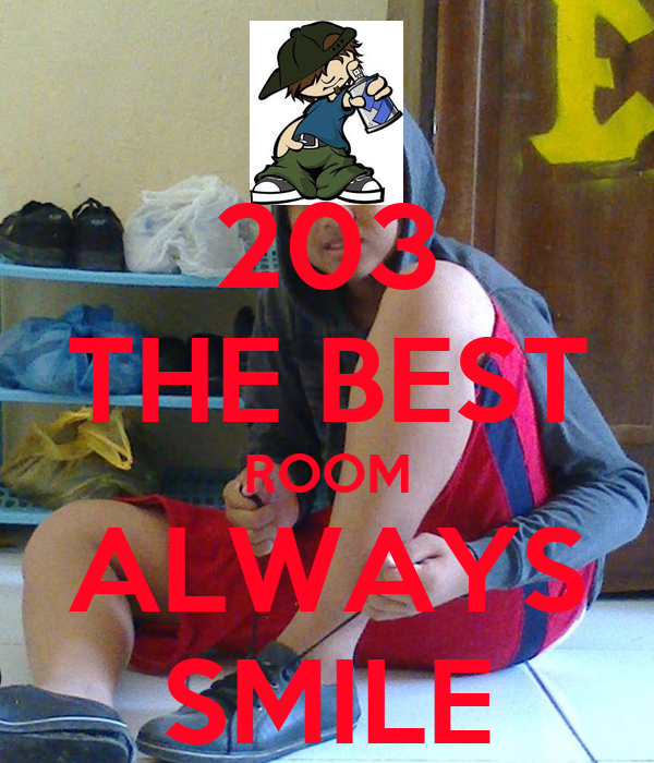 203 THE BEST ROOM ALWAYS SMILE