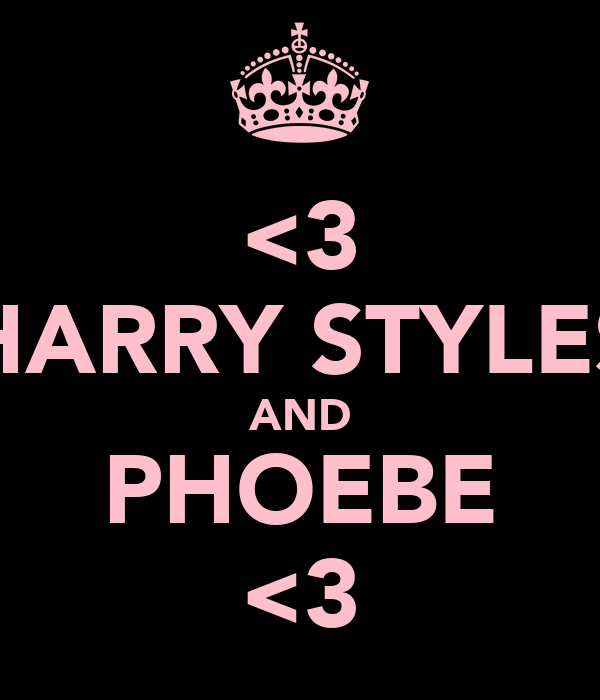 <3 HARRY STYLES AND PHOEBE <3