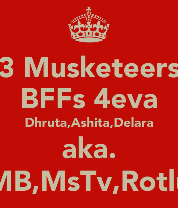 3 Musketeers BFFs 4eva Dhruta,Ashita,Delara aka. MB,MsTv,Rotlu