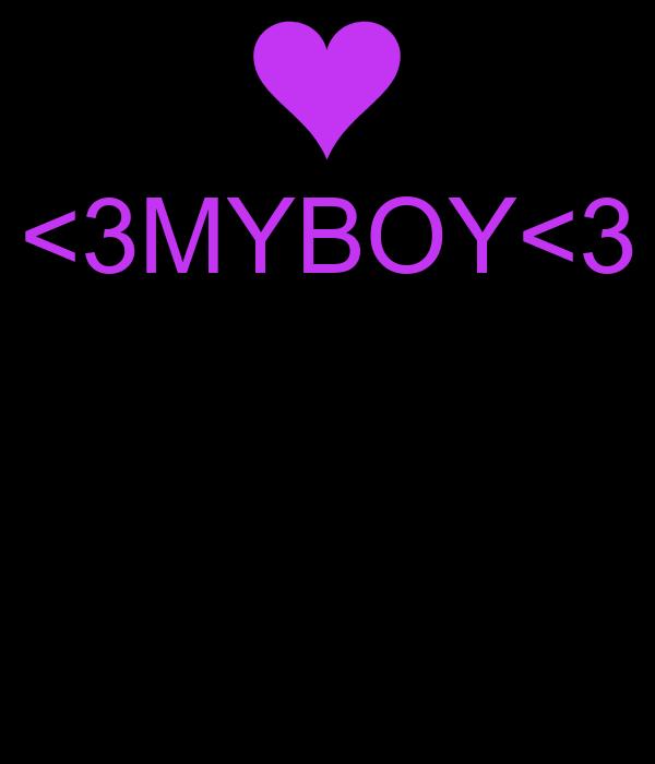 <3MYBOY<3