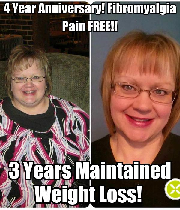 4 Year Anniversary! Fibromyalgia Pain FREE!! 3 Years Maintained Weight Loss!