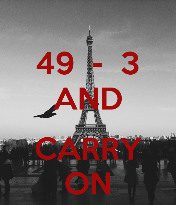 49  -  3 AND  CARRY ON