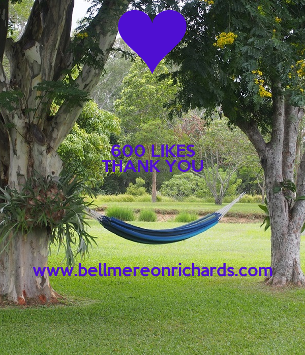 600 LIKES THANK YOU   www.bellmereonrichards.com