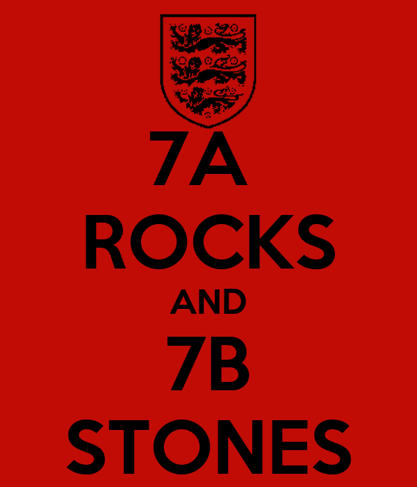 7A  ROCKS AND 7B STONES