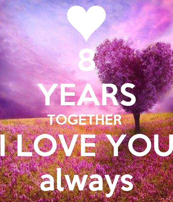 8 лет вместе картинки