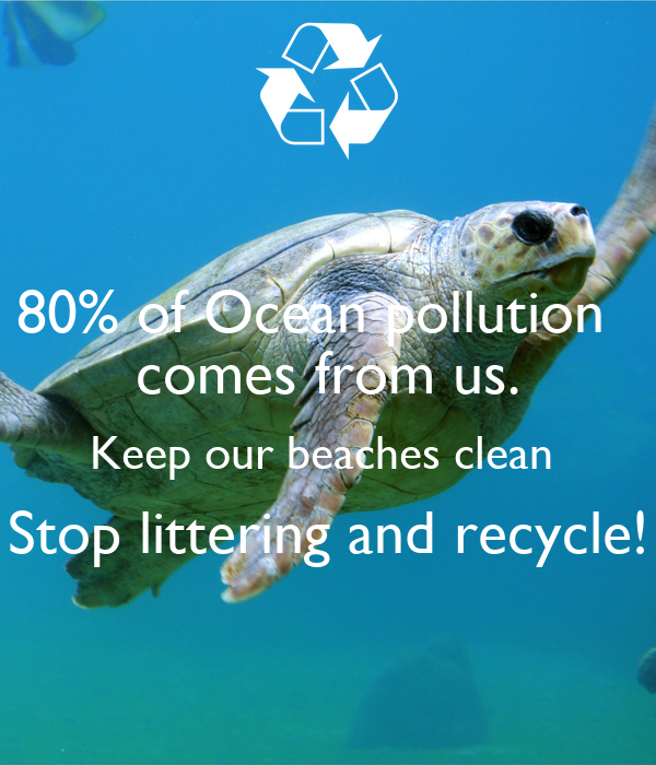 we should stop polluting the earths oceans They are one of the most obvious signs of just how much we as humanity are polluting our oceans if we stop polluting we curing the world's most.