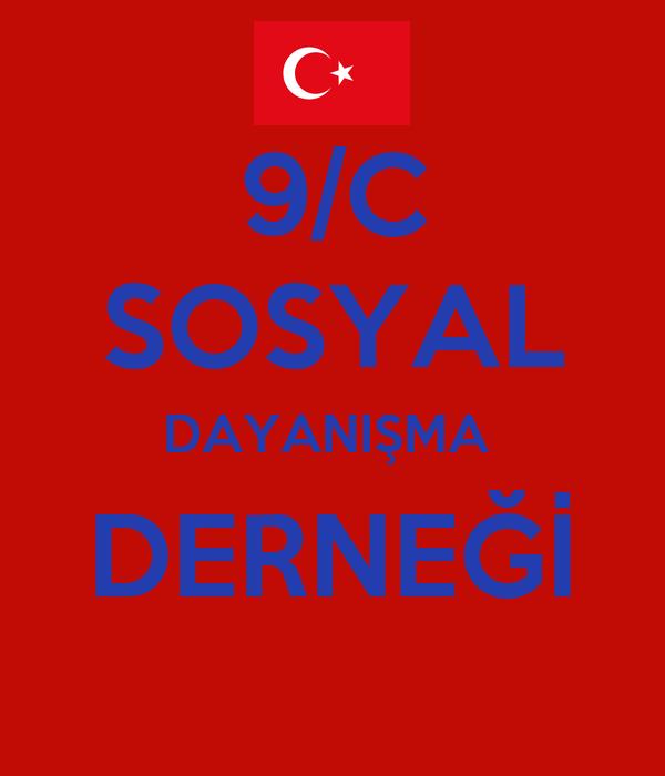 9/C  SOSYAL  DAYANIŞMA  DERNEĞİ