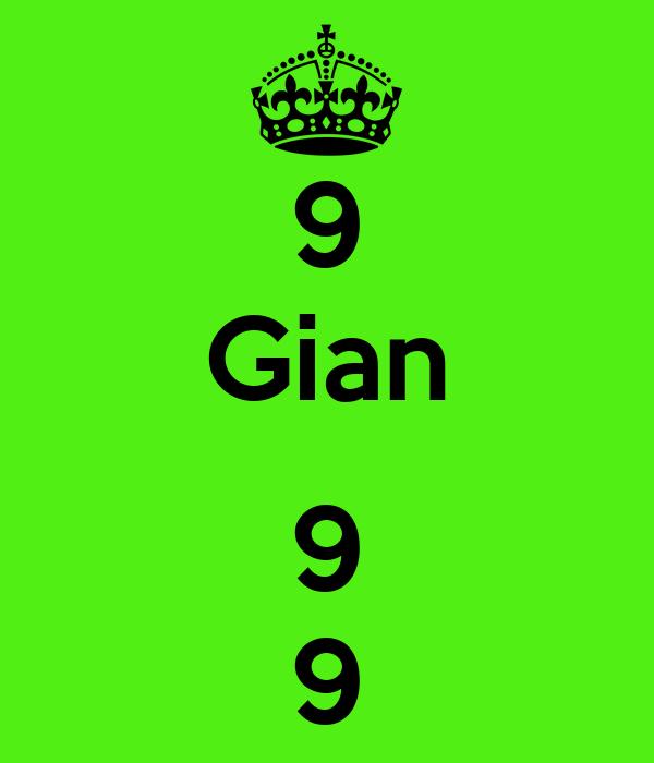 9 Gian  9 9