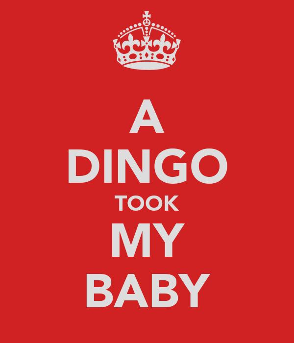 A DINGO TOOK MY BABY
