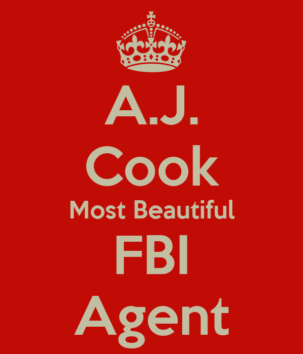 A.J. Cook Most Beautiful FBI Agent