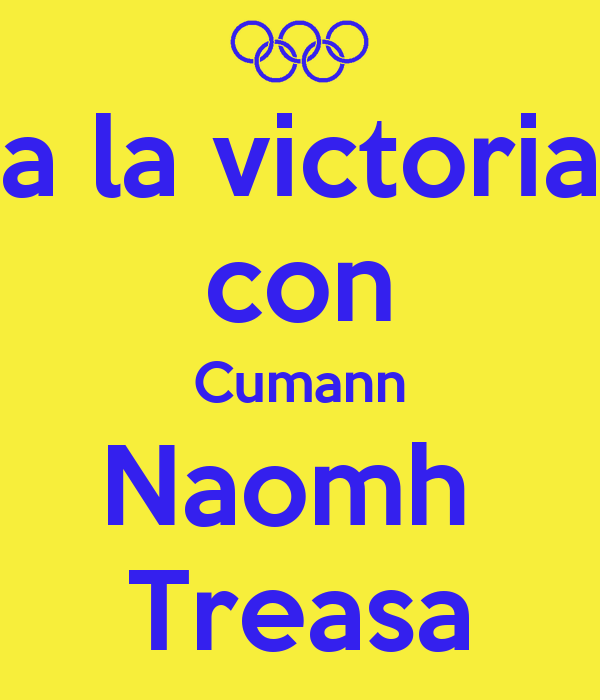 a la victoria con Cumann Naomh  Treasa