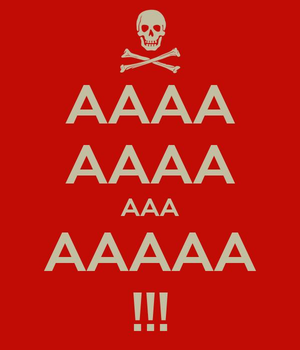 AAAA AAAA AAA AAAAA !!!