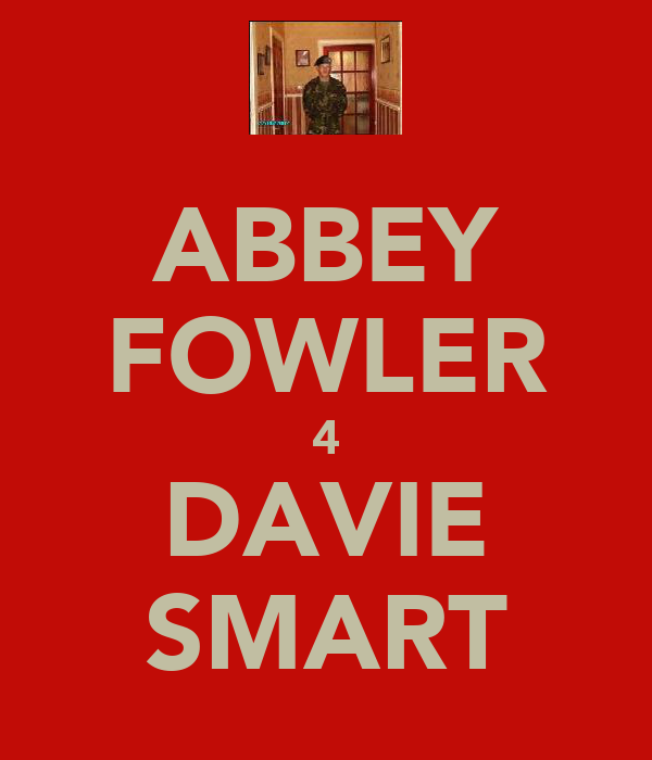 ABBEY FOWLER 4 DAVIE SMART