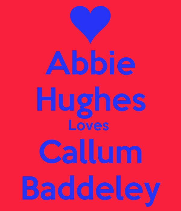 Abbie Hughes Loves  Callum Baddeley