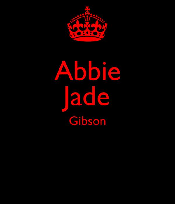 Abbie Jade Gibson