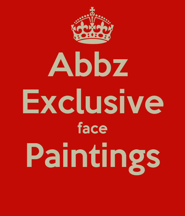 Abbz  Exclusive face Paintings
