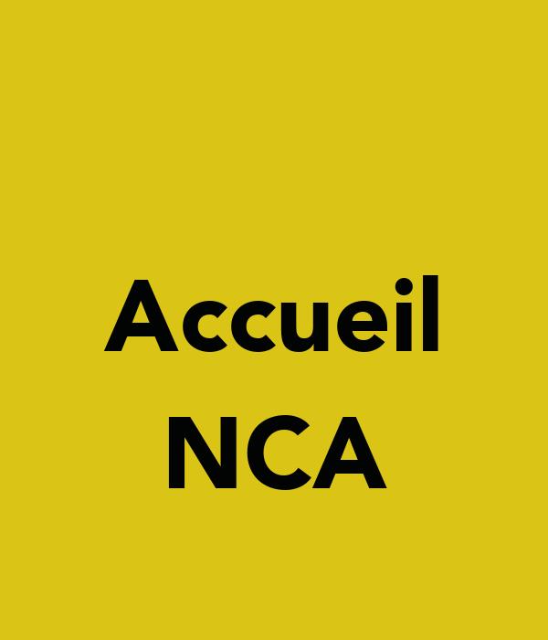 Accueil  NCA