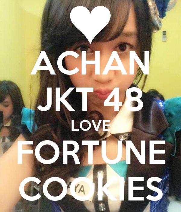 ACHAN JKT 48 LOVE FORTUNE COOKIES