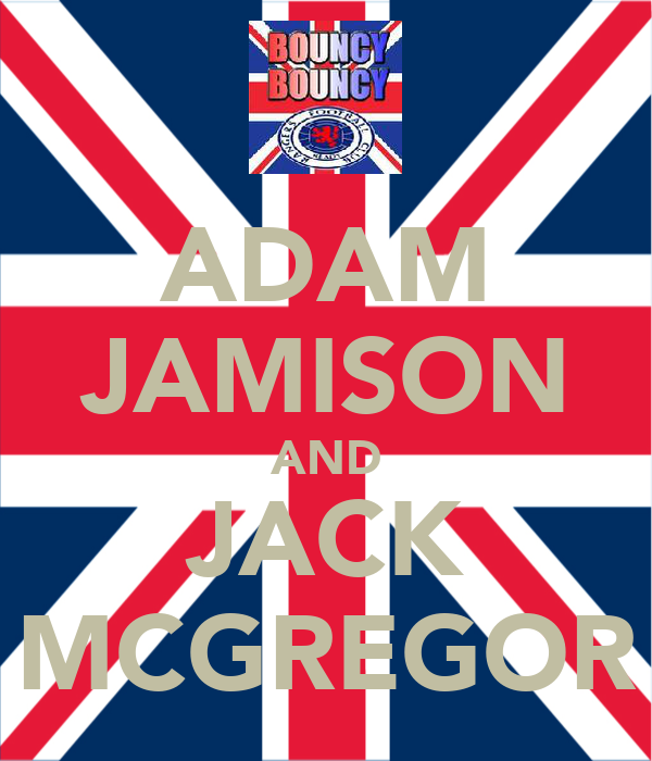 ADAM JAMISON AND JACK MCGREGOR
