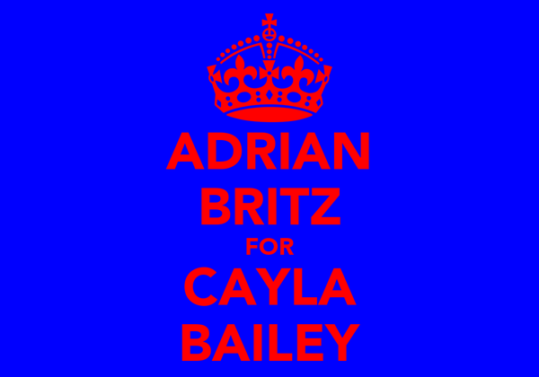 ADRIAN BRITZ FOR CAYLA BAILEY