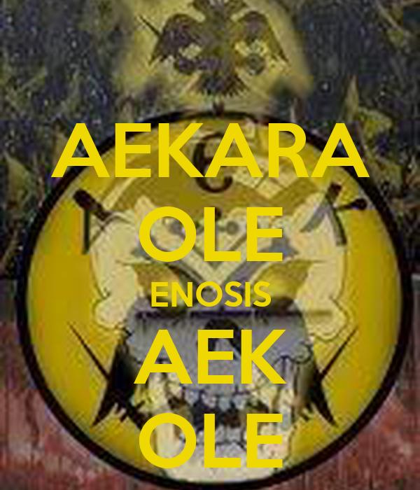 AEKARA OLE ENOSIS AEK OLE