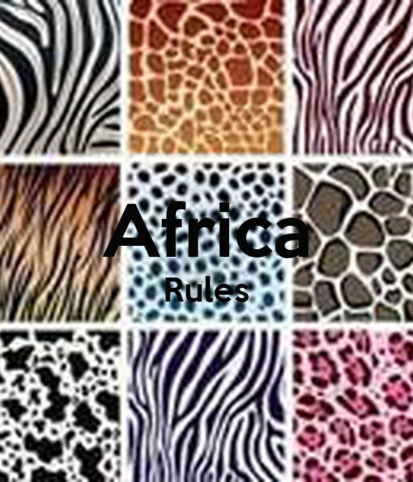 Africa Rules