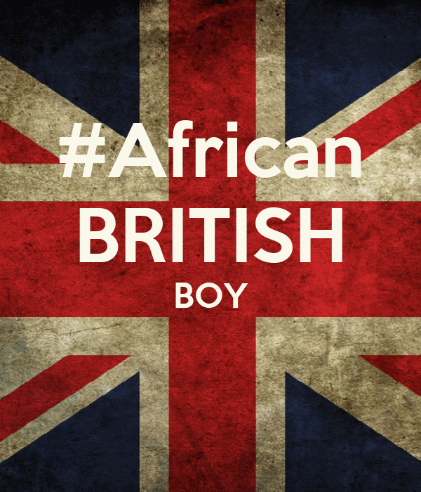#African BRITISH BOY